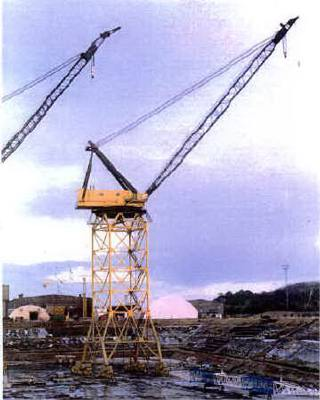 Whirley crane: Clyde Iron Works