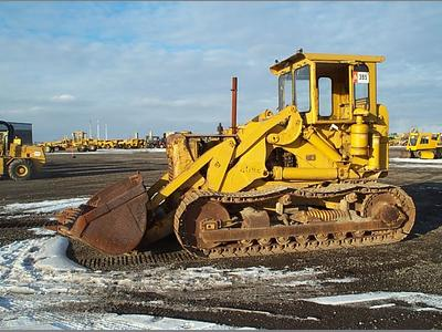 Crawler loader: 1957 Caterpillar 977D Traxcavator