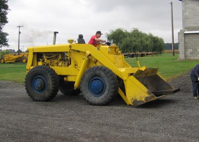 Wheel loader: early 1960s Clark Michigan 175A rigid frame
