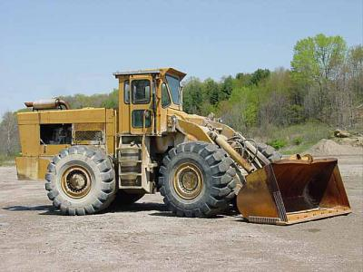 Wheel Loader: 1969 Eaton Yale & Towne Trojan 4000 articulated